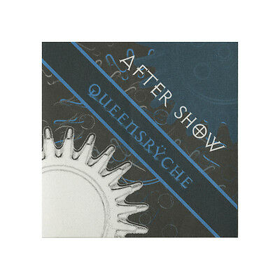 Queensryche authentic Aftershow 2000's tour Backstage Pass