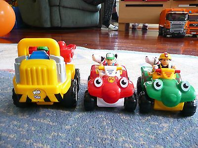 WOW Toy Vehicles (Set of 3)