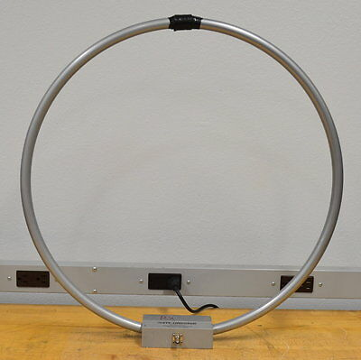 ETS Lindgren 6512 Passive Shielded Loop Antenna 10khz-30Mhz NICE