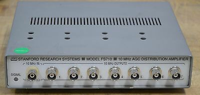 Stanford Research FS710 AGC Distribution Amplifier 10Mhz, EIGHT Available, GOOD