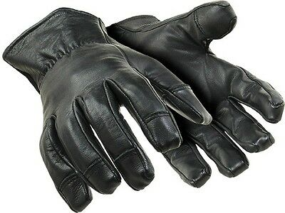 HEX ARMOR Leather Tactical Glove 4046 NEEDLESTICK AND PUNCTURE RESISTANT,X LARGE