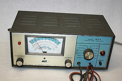 Vintage B & K Capacitor Analyst Model 801 Works Might Need Calibrated