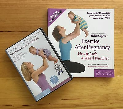 """""""Exercise After Pregnancy"""" book and """"Bounce Back Fast"""" DVD package by BeFit-Mom"""