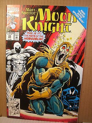 Two Marvel Comics Marc Spector Moon Knight 33, 45