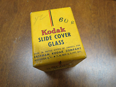KODAK SLIDE COVER GLASS 32 SHEETS 2 X 2 INCHES Vintage