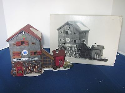 Dept 56  Heritage Village Collection  Blue Star Ice Co Great for Village Look!