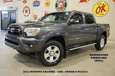 2012 Toyota Tacoma TRD Sport 4X4 NAV,BACK-UP CAM,CLOTH,BED COVER,28K! 12 TACOMA DOUBLE CAB TRD SPORT 4X4,NAV,BACK-UP CAM,17IN WHEELS,28K,WE FINANCE!!