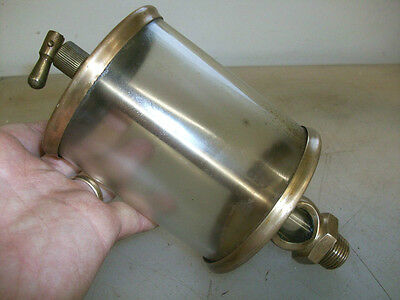 #6 LUNKENHEIMER SENTINEL Fig. 1300 BRASS OILER Hit and Miss No.6  VERY LARGE