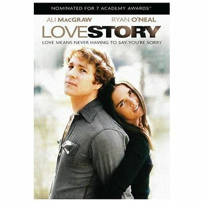 LOVE STORY DVD (1970) Ryan O'Neal Ali MacGraw NEW