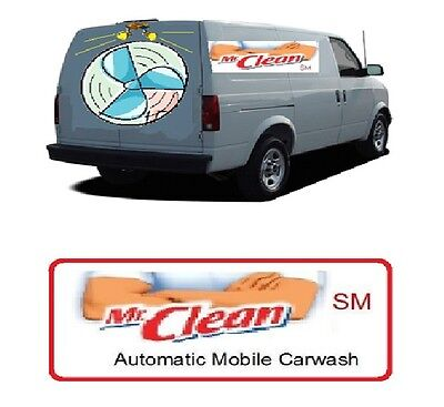 Mr.Clean(SM) Automatic Mobile Carwash Franchise