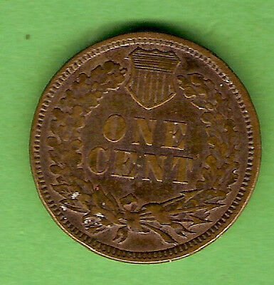 1884  Usa Indian Head Cent Coin