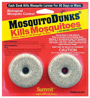 Summit Chemical 102-12 Mosquito Dunks-2PK MOSQUITO DUNKS