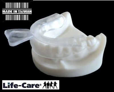1 X NIGHT MOUTH GUARD GUM SHIELD TRAY FOR BRUXISM / TEETH GRINDING (US$1.79)/lif