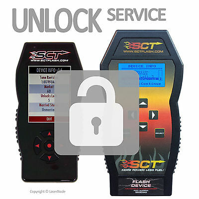 SCT X2 X3 X4 TS TSX Unlock Unmarry Any Ford GM DCX Flash Tuner Xcal Tune Device