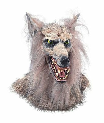 Collectors Realistic Werewolf Mask Adult Wolf Scary Dog Mask Latex Halloween