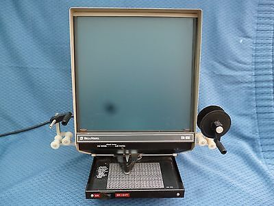 Bell & Howell Microfilm Viewer Model Sr Viii Series 1303Avc In Working Order