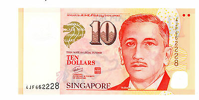 Singapore … P-New … 10 Dollars … ND(2013) … *UNC*
