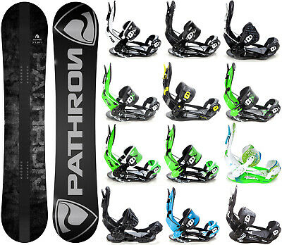 Snowboard Pathron Draft Grey + Bindung Fastec Raven, Pathron oder Rage - Neu!