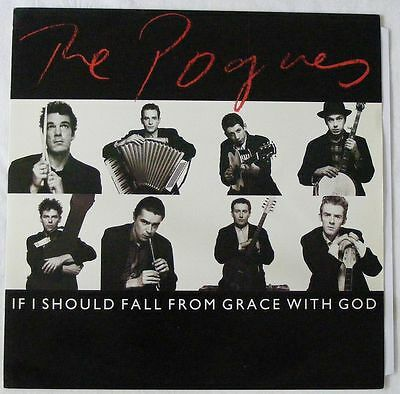 """THE POGUES UK 1988 12"""" Single IF I SHOULD FALL from grace with god     DiscNEW"""