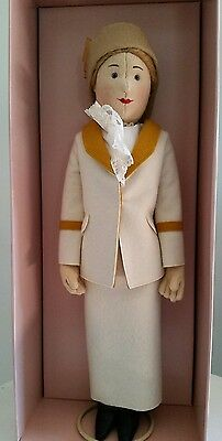 NIB Steiff Lt Ed / 3000 Felt Character Doll, Tennislady Betty