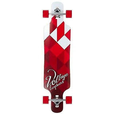 Voltage Drop Through Complete Longboard - White/Red