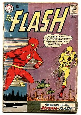 The Flash  #139 1963-Dc-First Professor Zoom-Tv Show