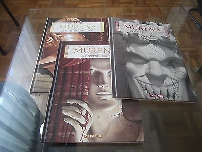 Lot BD Murena - tomes 1 - 2 -3 - Dufaux Delaby