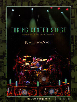 Taking Center Stage Neil Peart Drum Music Book Rush Transcriptions Drumming