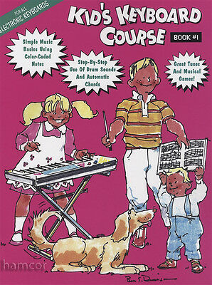 Kid's Keyboard Course Book 1 Learn How to Play Method for Beginners