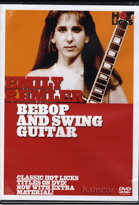 Emily Remler Bebop and Swing Guitar Tuition DVD