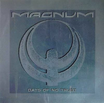"""MAGNUM UK 1988 12"""" Single DAYS OF NO TRUST LIVE TRAX     DiscNEW"""