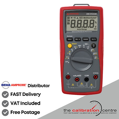 Beha Amprobe Am-510 Commercial Digital Multimeter - (Am510, Am-510-Eur)