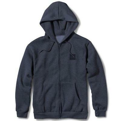 Chocolate Skateboards Tonal Square Zip Hoodie Charcoal