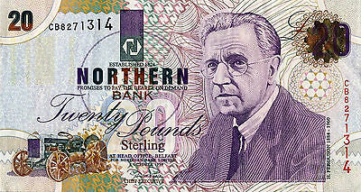MINT 1999 £20 NORTHERN BANK NOTE (N.Ireland)
