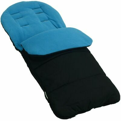 Footmuff / Cosy Toes Compatible with Graco Evo Pushchair Ocean Blue