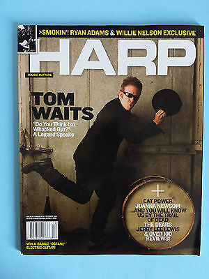Tom Waits Harp Music Matters Magazine Dec 2006 Ryan Adams Willie Nelson