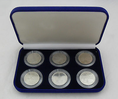"Set of 6 coins ""80 Olympics."" 1978 - 1980 year. Russia. 100% original."