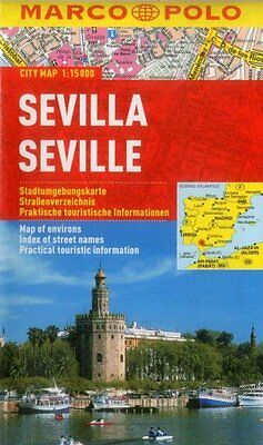 Seville Marco Polo City Map by Marco Polo 9783829730792