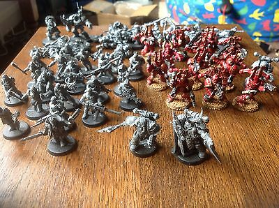 Warhammer 40k. Chaos Space Marine Army. Including Kranon The Relentless.
