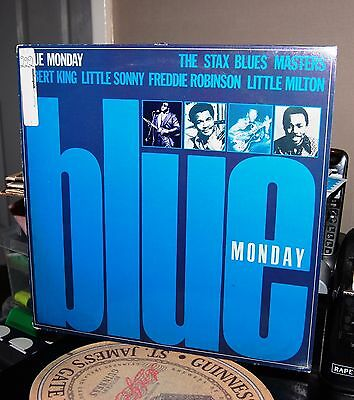 """Various.  """"blue Monday-The Stax Blues Masters""""  Stax Uk 1979 Lp. Ex Cond."""