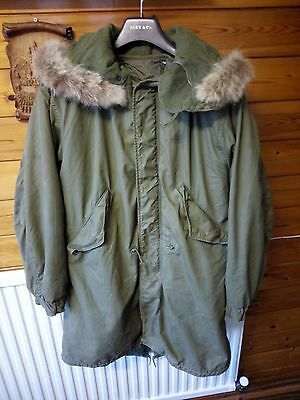 M-1951 Fishtail Parka, Genuine Vintage U.S. Army - Small & Good Condition