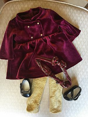 American Girl Bitty Baby Twins 2003 Holiday/Christmas Outfit Dress