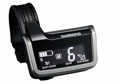 Shimano XTR Di2 SC-M9051 System Information Display Black Shifter Road Bicycle