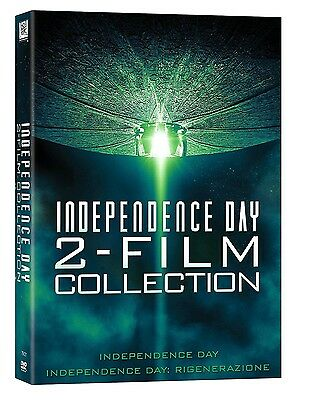 INDEPENDENCE DAY 2 FILM COLLECTION (2 DVD) con Liam Hemsworth e Will Smith
