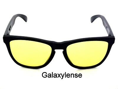 4aeeb9dcd2 Galaxy Replacement Lenses For Oakley Garage Rock Sunglasses Yellow Night  Vision