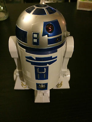"Battery Operated R2/D2 Star Wars Interactive 6"" inch"