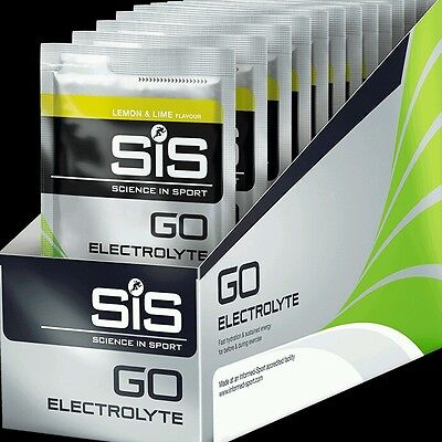 SiS GO Electrolyte 40g 18 Pack - Lemon & Lime use by may 2018