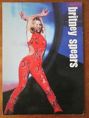 Britney Spears Pyramid Picture Postcard Photograph Photo Celebrity
