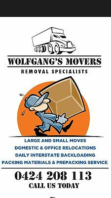Transport service Furniture and Rubbish Removals 0424208113