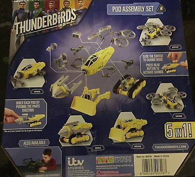 Pod Assembly Set - Thunderbirds Are Go 90318 5 in 1Action and Rescue sounds BNIB
